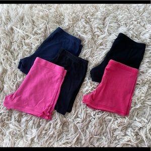 5 Pair of Tumble Shorts, M/7-8